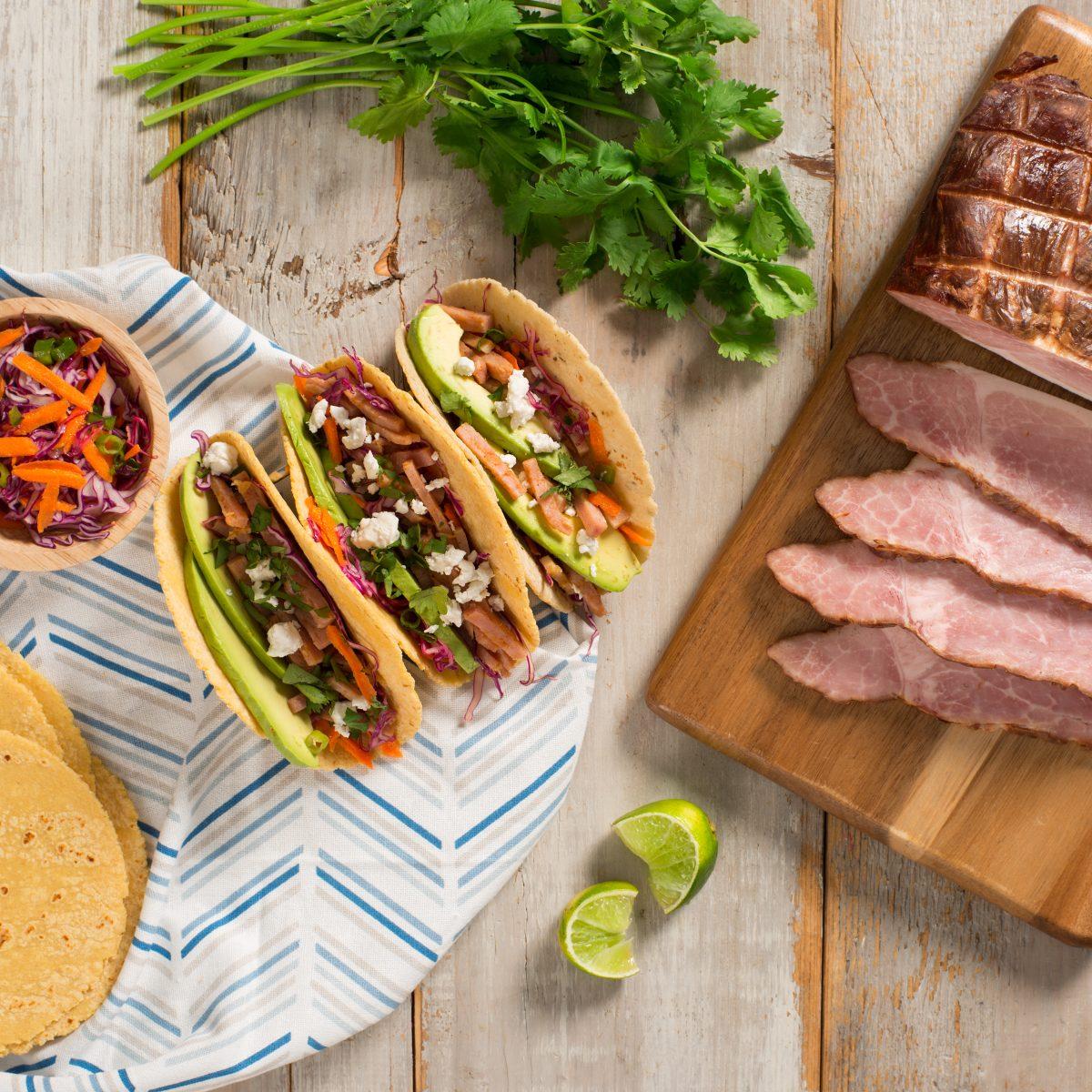 Ham Tacos