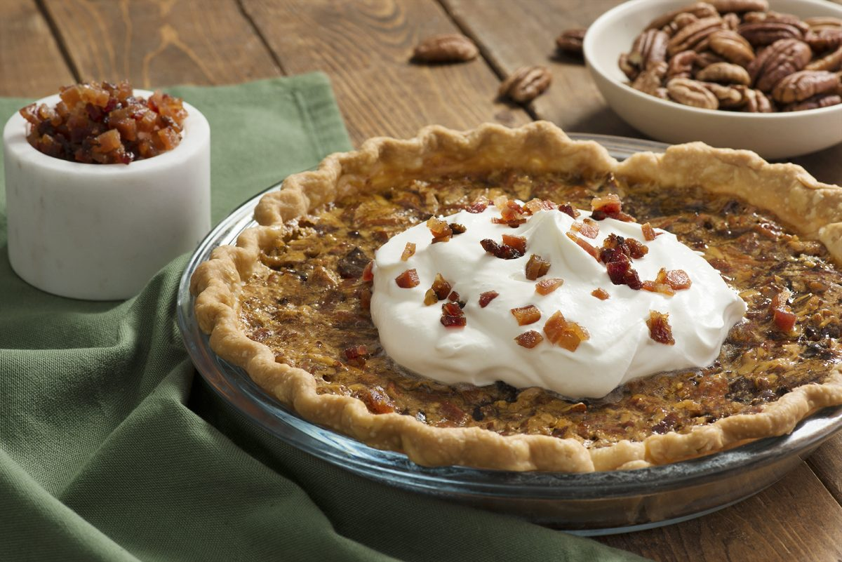 Bourbon Bacon & Pecan Pie