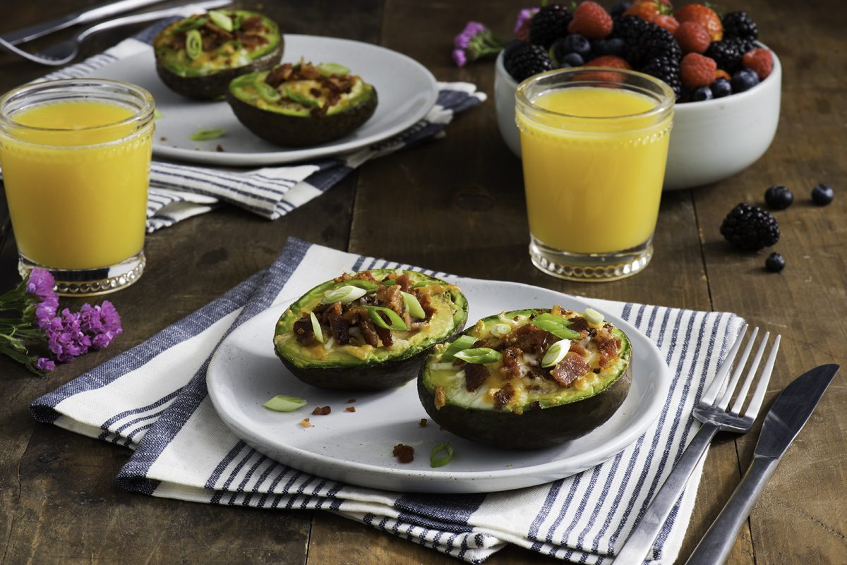 Bacon-and-Egg Stuffed Avocado